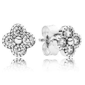 🔥Pandora🔥 Oriental Blossom Stud Earrings